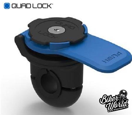 QUAD LOCK Kit Supporto Universale per Specchietto + Cover iPhone 7