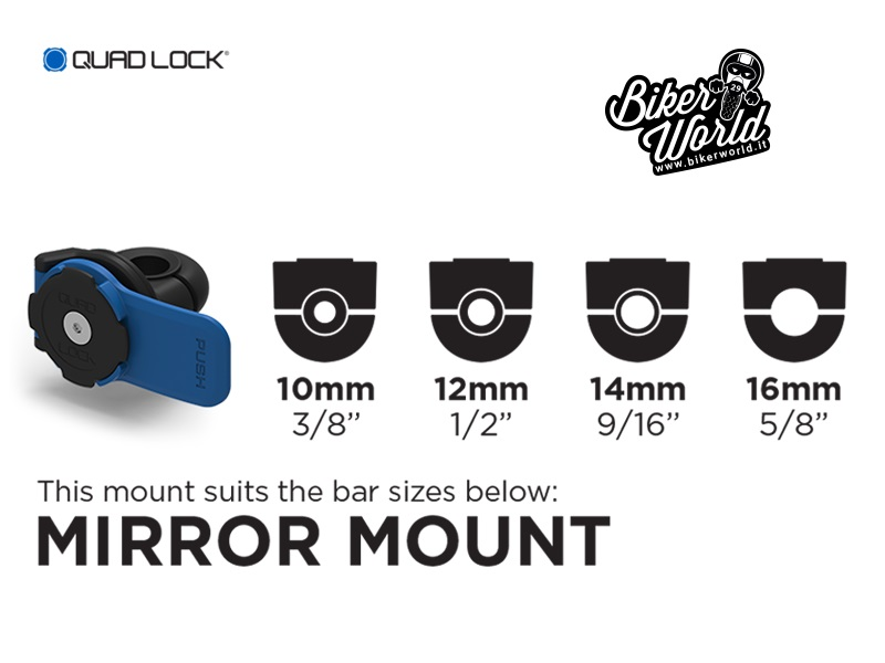 QUAD LOCK Mirror Mount Kit iPhone 6 - 6s