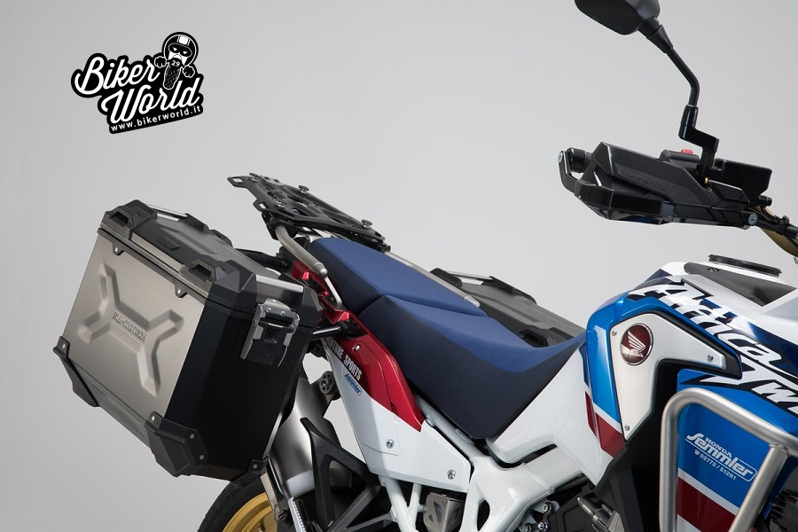 bed88858a30 SW-MOTECH TRAX ADV Aluminum Pannier System for HONDA CRF1000L AFRICA TWIN -  ADVENTURE SPORTS ('18 up)