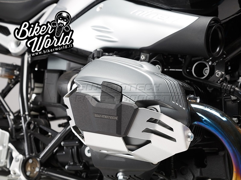 SW MOTECH PROTECTION CYLINDER SILVER BMW R 1200 GS